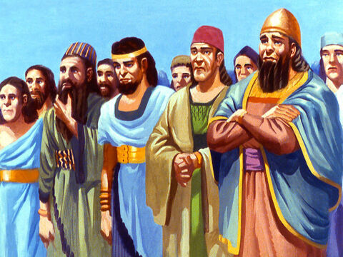 Within the royal court were people of many different nations and customs - people who had been conquered and then chosen to help King Nebuchadnezzar rule his empire. – Slide 2