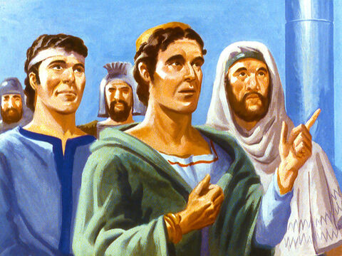 The brave young men replied, 'Our God is able to deliver us, but even if He choses not to, we will never serve your gods or worship the golden image. – Slide 25
