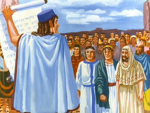 And Shadrach, Meshach and Abednego were promoted to higher places within the Kingdom but their real happiness was in their freedom to worship God. – Slide 46