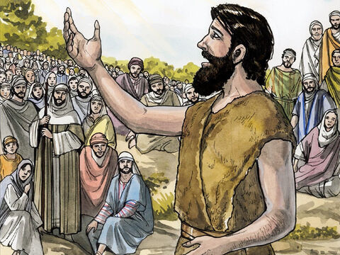 A man came, sent from God, whose name was John. – Slide 4
