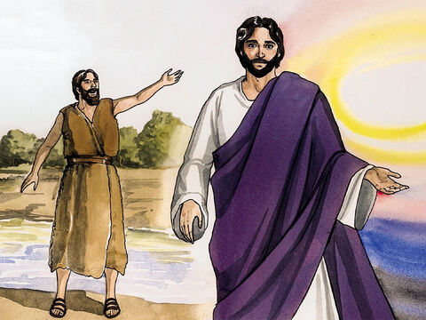 """John testified about Him and shouted out, 'This one was the one about whom I said, """"He who comes after me is greater than I am, because He existed before me.""""' For we have all received from His fullness one gracious gift after another. – Slide 14"""