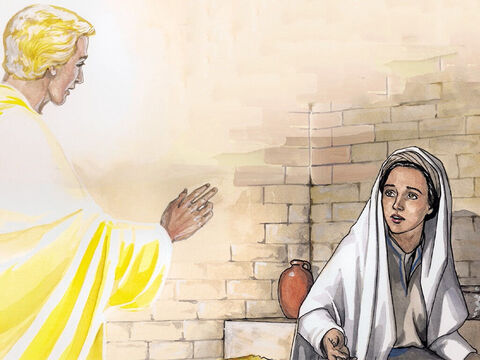 So the angel said to her, 'Do not be afraid, Mary, for you have found favour with God! – Slide 4