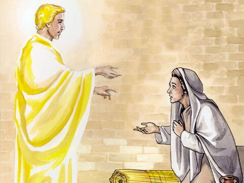 'Therefore the child to be born will be holy; He will be called the Son of God.  And look, your relative Elizabeth has also become pregnant with a son in her old age – although she was called barren, she is now in her sixth month! For nothing will be impossible with God.' – Slide 8