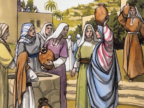 All their neighbours were filled with fear, and throughout the entire hill country of Judea all these things were talked about. All who heard these things kept them in their hearts, saying, 'What then will this child be?' For the Lord's hand was indeed with him. – Slide 7