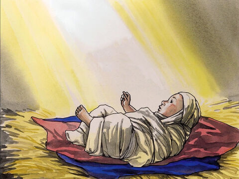 This all happened so that what was spoken by the Lord through the prophet would be fulfilled: 'Look! The virgin will conceive and bear a son, and they will call Him Emmanuel', which means 'God with us.' – Slide 4