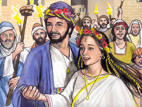 … but did not have marital relations with her until she gave birth to a son, whom he named Jesus. – Slide 6