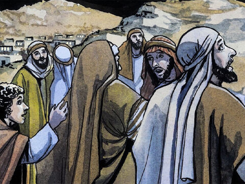 When the angels left them and went back to heaven, the shepherds said to one another, 'Let us go over to Bethlehem and see this thing that has taken place, that the Lord has made known to us.' – Slide 9