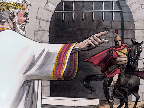 When Herod saw that he had been tricked by the Wise Men, he became enraged. – Slide 3