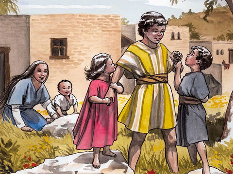 He came to a town called Nazareth and lived there. Then what had been spoken by the prophets was fulfilled, that Jesus would be called a Nazarene. – Slide 8