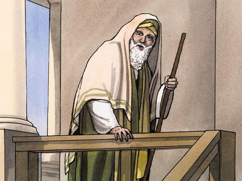 So Simeon, directed by the Spirit, came into the temple courts, and when the parents brought in the child Jesus to do for Him what was customary according to the law … – Slide 4