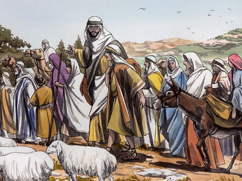 Now Jesus' parents went to Jerusalem every year for the feast of the Passover. – Slide 1