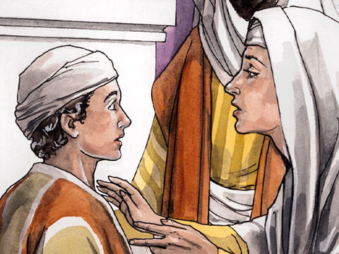 But He replied, 'Why were you looking for me? Didn't you know that I must be in my Father's house?' – Slide 10