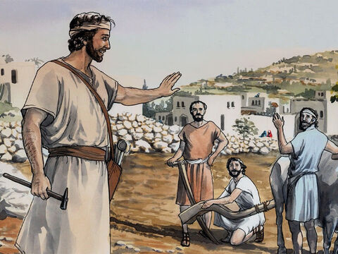 And Jesus increased in wisdom and in stature, and in favour with God and with people. – Slide 13