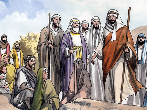 Then Jesus came from Galilee to John to be baptised by him in the Jordan River. – Slide 1