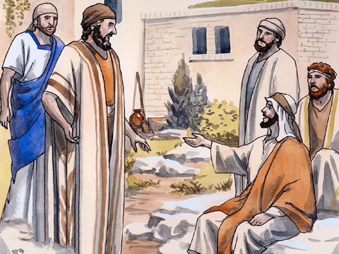 Jesus saw Nathanael coming toward Him and exclaimed, 'Look, a true Israelite in whom there is no deceit!' Nathanael asked Him, 'How do you know me?' – Slide 8