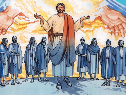 'If I have told you people about earthly things and you don't believe, how will you believe if I tell you about heavenly things? No one has ascended into heaven except the one who descended from heaven – the Son of Man. – Slide 10