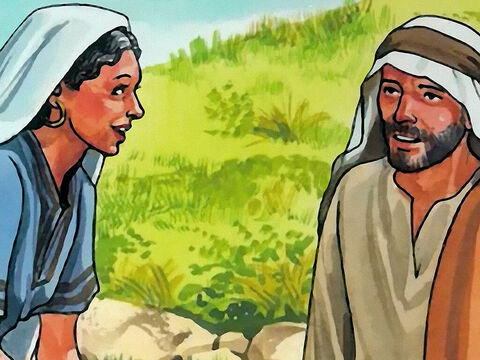The woman said to Him, 'I know that the Messiah is coming' (the one called Christ); 'whenever He comes, He will tell us everything.' – Slide 5