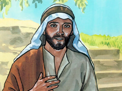 Jesus said to her, 'I, the one speaking to you, am He.' – Slide 6
