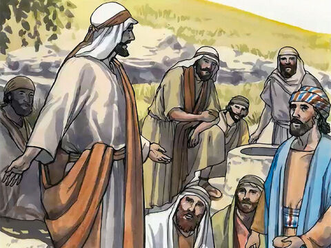 Meanwhile the disciples were urging Jesus, 'Rabbi, eat something.' But He said to them, 'I have food to eat that you know nothing about.' – Slide 9