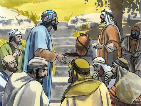 Jesus said to them, 'My food is to do the will of the one who sent me and to complete His work. – Slide 11