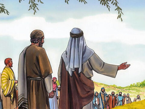 Now many Samaritans from that town believed in Jesus because of the report of the woman who testified, 'He told me everything I ever did.' – Slide 14