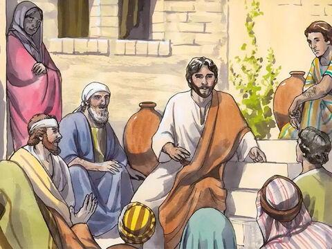 They said to the woman, 'No longer do we believe because of your words, for we have heard for ourselves, and we know that this one really is the Saviour of the world.' – Slide 17