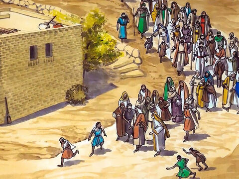 Now Jesus came again to Cana in Galilee … – Slide 2