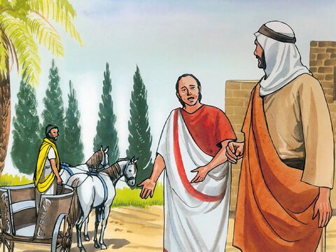 In Capernaum there was a certain royal official whose son was sick. – Slide 4