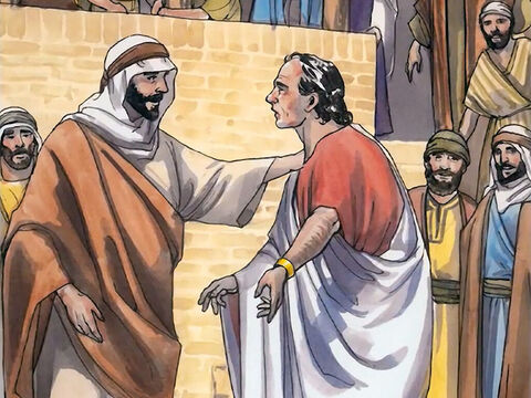 'Sir,' the official said to him, 'come down before my child dies.' Jesus told him, 'Go home. Your son will live.' – Slide 7