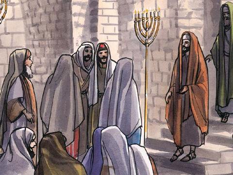 Now Jesus came to Nazareth, where He had been brought up, and went into the synagogue on the Sabbath day, as was His custom. – Slide 2