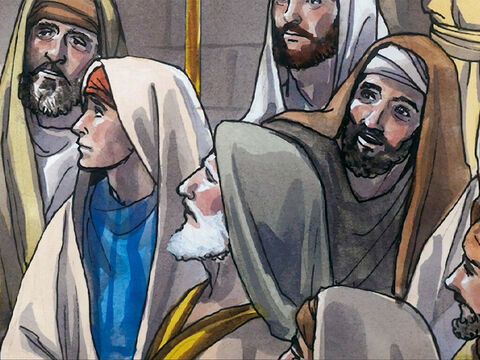 All were speaking well of Him, and were amazed at the gracious words coming out of his mouth. They said, 'Isn't this Joseph's son?' – Slide 7