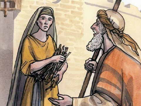 'But in truth I tell you, there were many widows in Israel in Elijah's days, when the sky was shut up three and a half years, and there was a great famine over all the land. Yet Elijah was sent to none of them, but only to a woman who was a widow at Zarephath in Sidon. – Slide 10