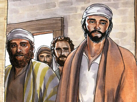 After Jesus left the synagogue in Capernaum, He entered Simon's house. – Slide 1