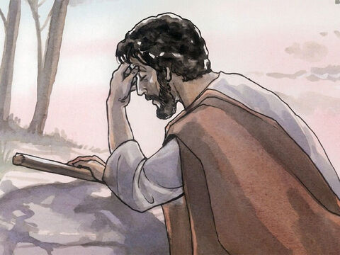 The next morning Jesus departed and went to a deserted place. – Slide 8