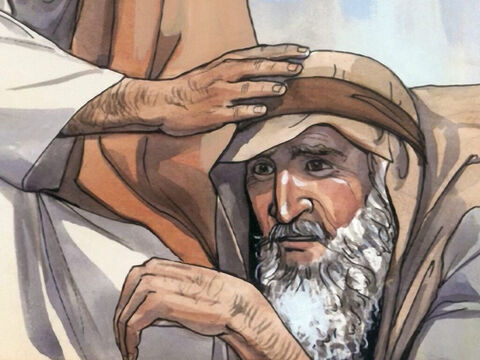 So Jesus stretched out His hand and touched him, saying, 'I am willing. Be clean!' And immediately the leprosy left him. – Slide 4