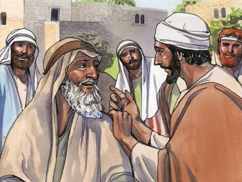 Then He ordered the man to tell no one, but commanded him, 'Go and show yourself to a priest, and bring the offering for your cleansing, as Moses commanded, as a testimony to them.' – Slide 5
