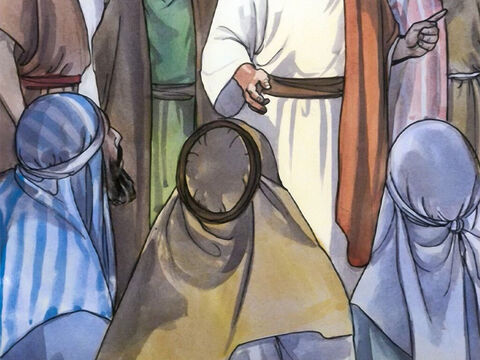 Then the experts in the law and the Pharisees began to think to themselves, 'Who is this man who is uttering blasphemies? Who can forgive sins but God alone?' – Slide 8