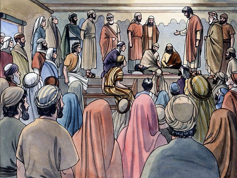 'But so that you may know that the Son of Man has authority on earth to forgive sins' – He said to the paralysed man – – Slide 10