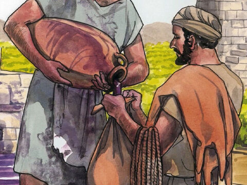 Instead they put new wine into new wineskins and both are preserved.' – Slide 7