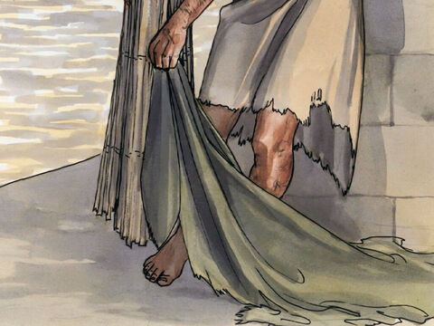 Immediately the man was healed, and he picked up his mat … – Slide 7