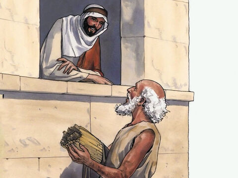 After this Jesus found him at the temple and said to him, 'Look, you have become well. Don't sin any more, lest anything worse happen to you.' – Slide 13
