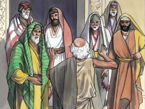 The man went away and informed the Jewish leaders that Jesus was the one who had made him well. – Slide 14