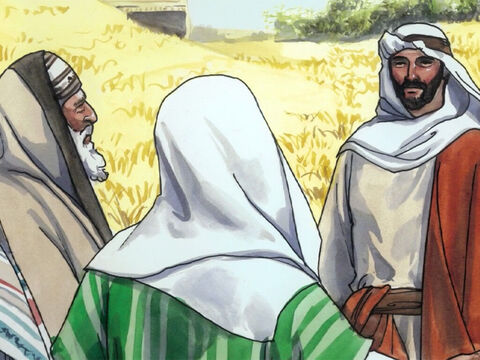 But some of the Pharisees said, 'Why are you doing what is against the law on the Sabbath?' – Slide 3