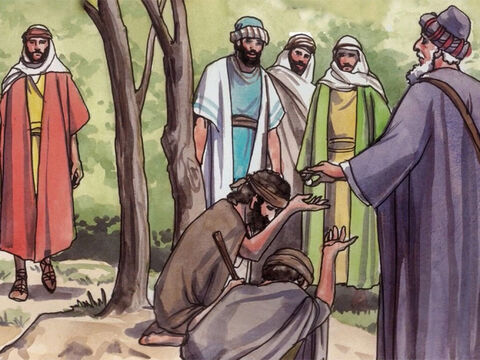 'Thus whenever you do charitable giving, do not blow a trumpet before you, as the hypocrites do in synagogues and on streets so that people will praise them. I tell you the truth, they have their reward. – Slide 2