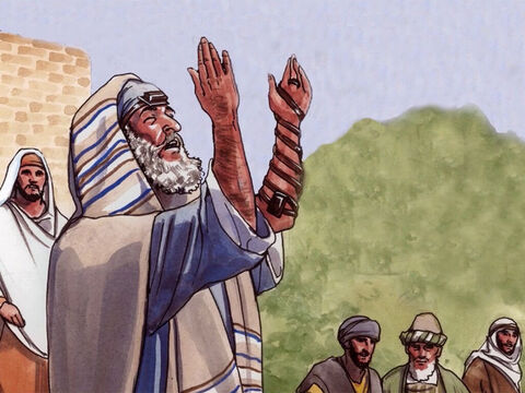 'Whenever you pray, do not be like the hypocrites, because they love to pray while standing in synagogues and on street corners so that people can see them. Truly I say to you, they have their reward. – Slide 5