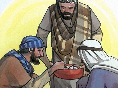 'Give us today our daily bread and forgive us our debts, as we ourselves have forgiven our debtors. – Slide 9