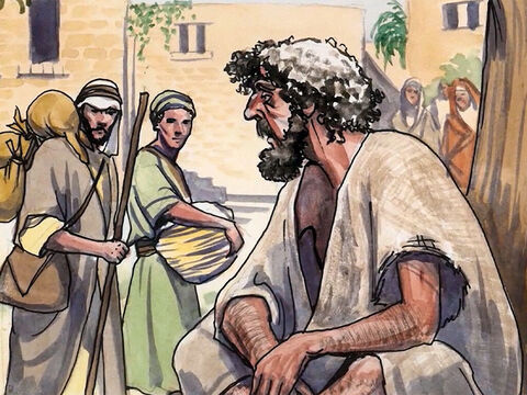 'When you fast,' Jesus said, 'do not look sullen like the hypocrites, for they make their faces unattractive so that people will see them fasting. I tell you the truth, they have their reward. – Slide 2