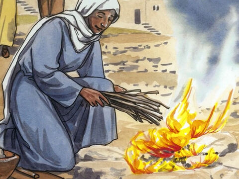 'And if this is how God clothes the wild grass, which is here today and tomorrow is tossed into the fire to heat the oven, won't he clothe you even more, you people of little faith? – Slide 8