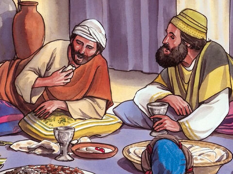'So then, don't worry saying, 'What will we eat?' or 'What will we drink?' or 'What will we wear?' 'For the unconverted pursue these things, and your heavenly Father knows that you need them. – Slide 9