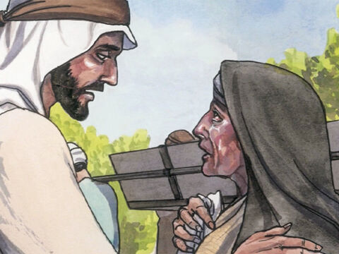 When the Lord saw her, He had compassion for her and said, 'Do not weep.' – Slide 3